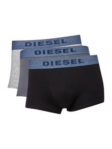 Diesel 3 pack of Denim-Look Trunks