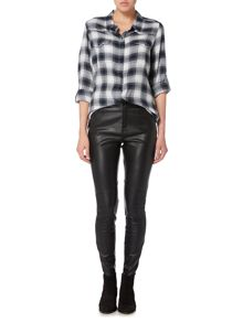 Maison De Nimes Faux leather leggings