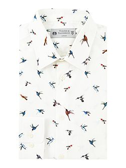 Fawley Bird Print Shirt