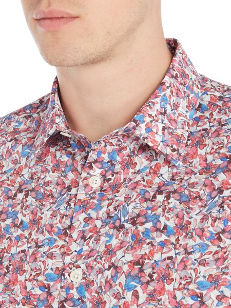 Turner & Sanderson Hartwell Abstract Floral Print Shirt