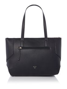 Nica Charlotte black medium tote bag