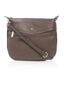 Nica Finn grey cross body bag