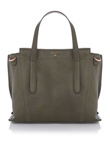 Nica Nabi green medium tote bag
