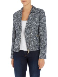 Armani Jeans Long sleeve zip blazer