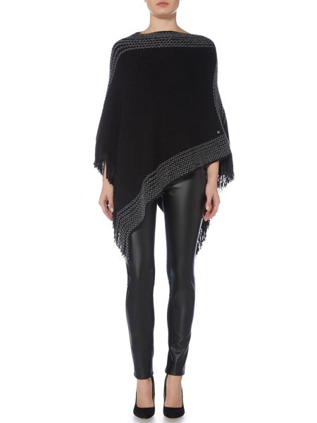 Armani Jeans Faux leather trousers