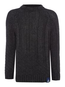 Vivienne Westwood Chunky knit slouchy crew neck jumper