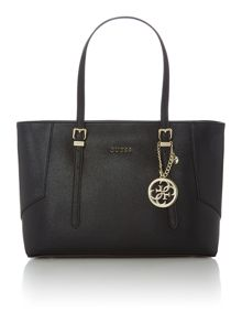 Guess Isabeau black large tote bag