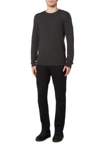 Linea Angers Textured Merino Crew Neck Jumper