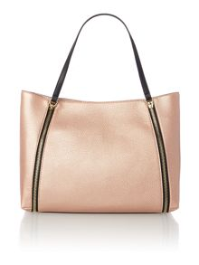 Guess Angie pink zip tote bag