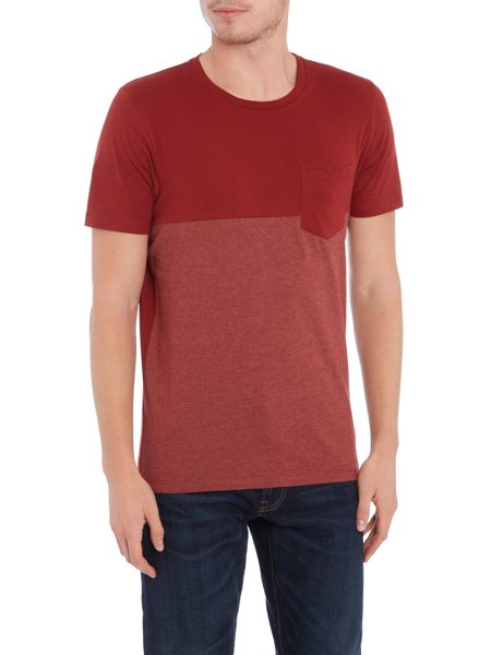Jack & Jones Contrast Panel Short Sleeve T-shirt