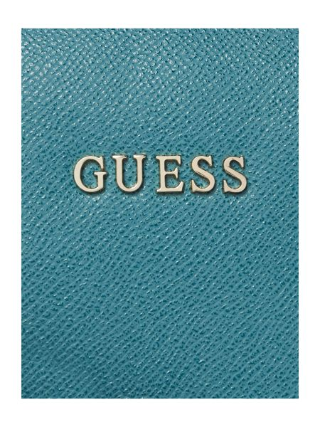 Guess Isabeau green large crossbody bag