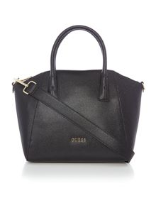 Guess Isabeau black medium satchel bag