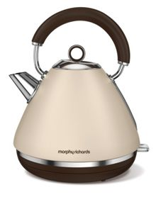Morphy Richards Accents Special Edition Pyramid Kettle, Sand