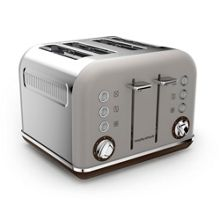 Morphy Richards Accents Special Edition 4 Slot Toaster Pebble