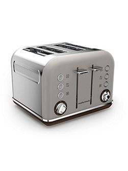 Accents Special Edition 4 Slot Toaster Pebble