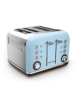 Accents Special Edition 4 Slot Toaster Azure