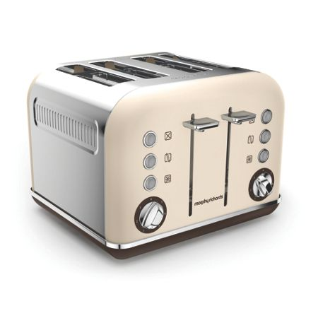 Morphy Richards Accents Special Edition 4 Slot Toaster Sand