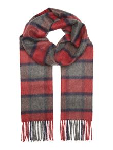 Royal Speyside Tartan square checked cashmere scarf