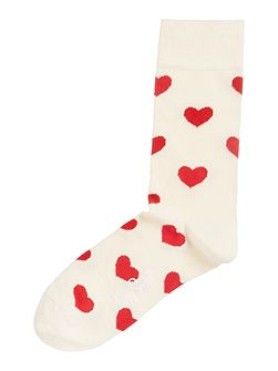 Heart ankle sock