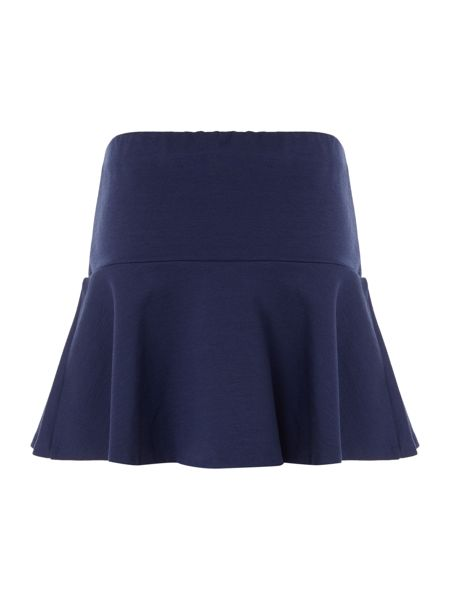 Polo Ralph Lauren Girls Ponte Flared Hem Skirt