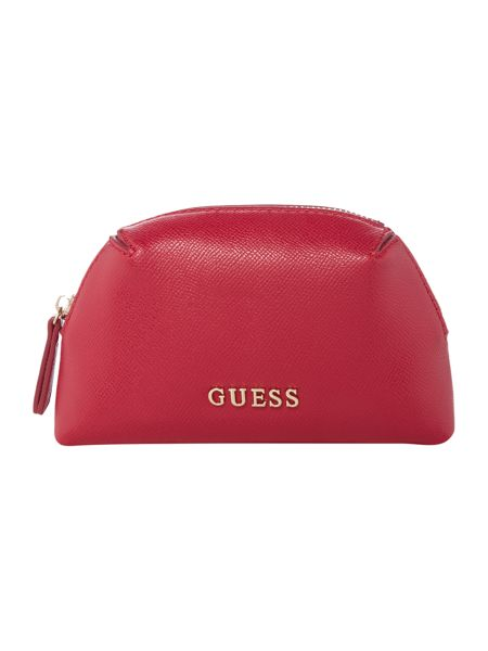 Guess Isabeau pink cosmetic case