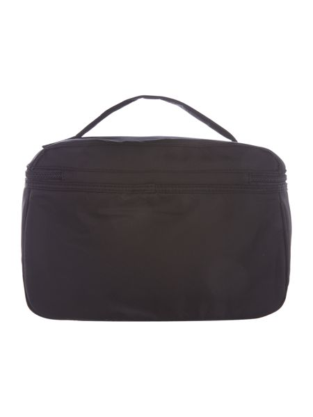Guess Black large weekend travel case