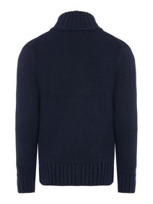Polo Ralph Lauren Boys Zip Through Funnel Neck Jumper
