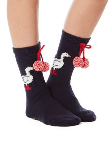 Dickins & Jones Goosey lucie knitted socks