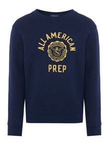 Polo Ralph Lauren Boys American Prep Crew Neck Sweater