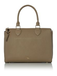 Lamb 1887 The lilly taupe tote bag