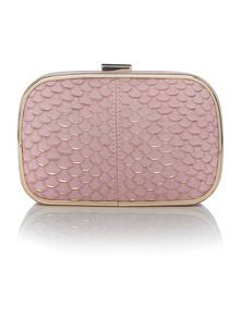 Lamb 1887 Iris Light Pink Clutch