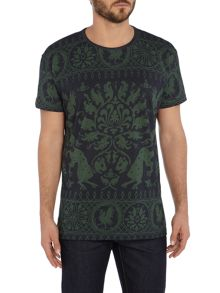 Vivienne Westwood All over bandana print crew neck t shirt