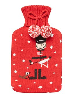 Drummer Boy Hot water Bottle