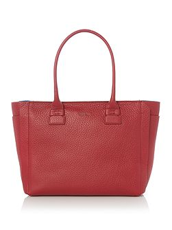 Carpriccio red medium tote bag