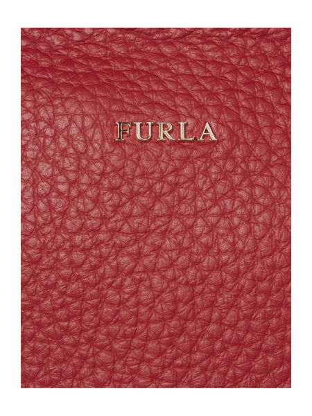 Furla Carpriccio red medium tote bag