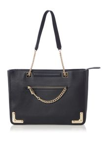 Furla Diana chain tote shoulder bag