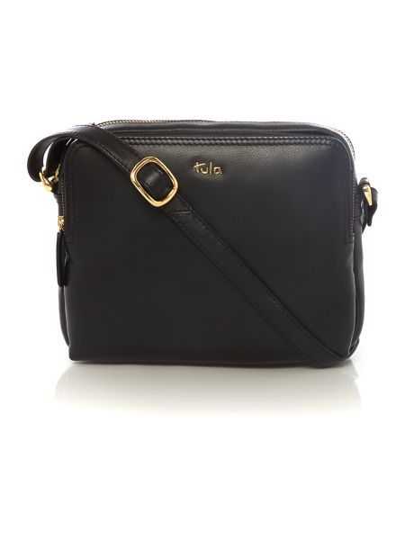 Tula Nappa originals black medium crossbody bag