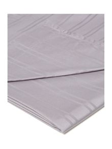 Luxury Hotel Collection Dobby stripe flat sheet