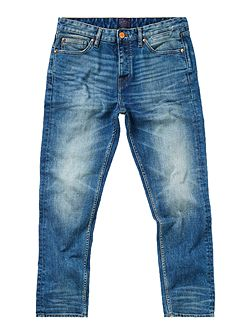 Slater Slim Fit Mid Blue Jeans