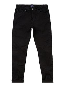 Slater Slim Fit Black Rinse Jean