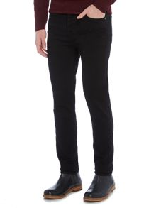 Criminal Slater Slim Fit Black Rinse Jean