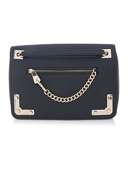 Diana black chain crossbody