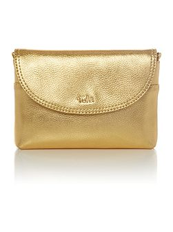 Party gold small crossbody bag