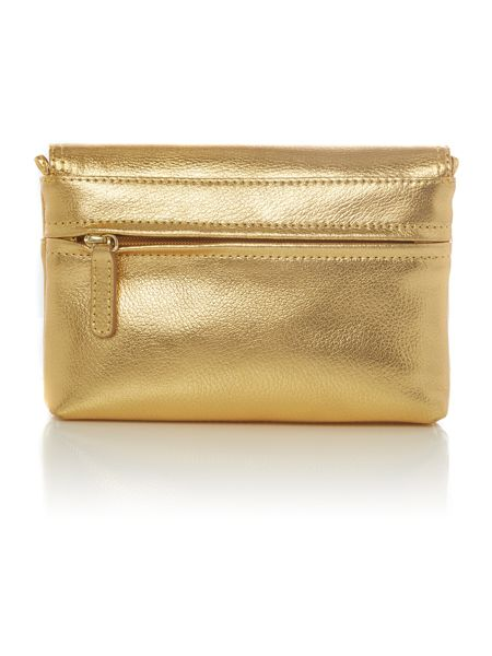 Tula Party gold small crossbody bag