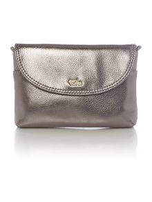 Tula Party silver small crossbody bag