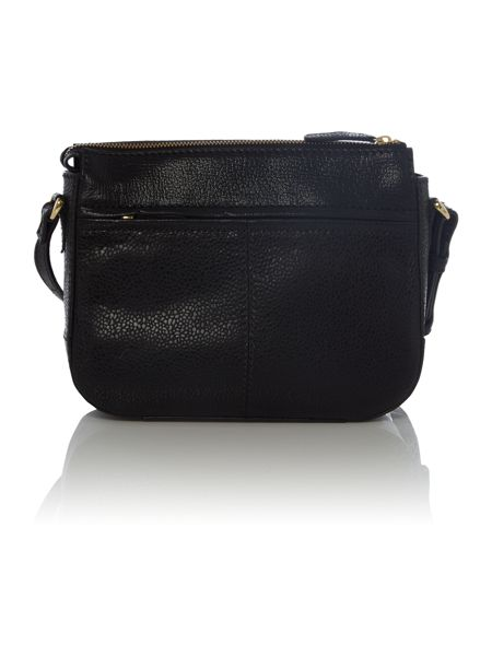 Tula Rye black medium crossbody bag