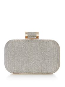 Linea Glitter box clutch