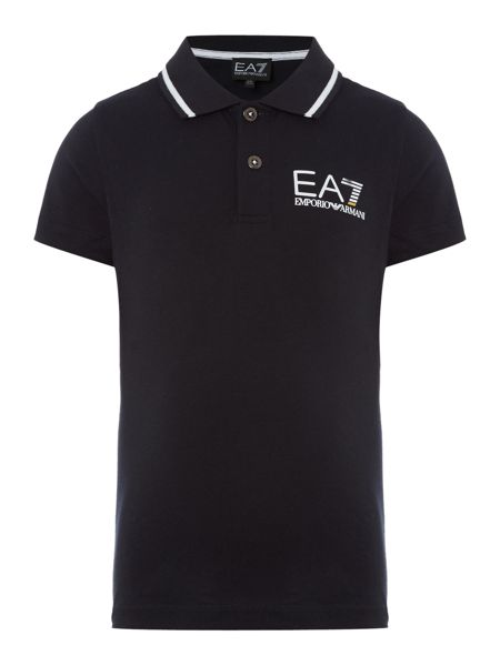 EA7 Junior Boys EA7 Logo Polo Shirt