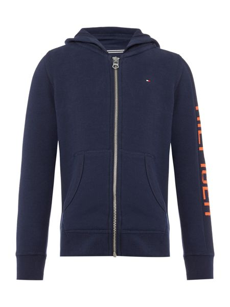 Tommy Hilfiger Boys Hilfiger Zip-Up Hoody