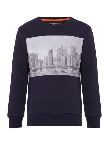 Tommy Hilfiger Boys Basic Crew Neck Sweatshirt